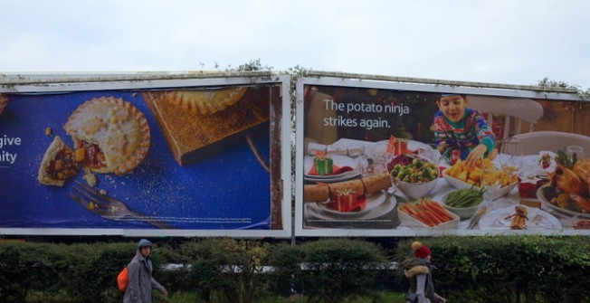 Billboard Adverts in Abercegir
