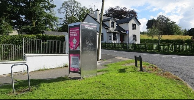 Phone Box Adverts in Tyne and Wear